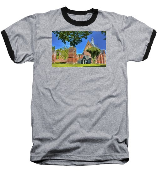Churchyard Baseball T-Shirt by Nadia Sanowar