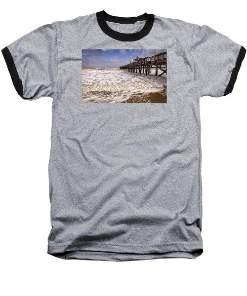 Churn Baseball T-Shirt by David Cote