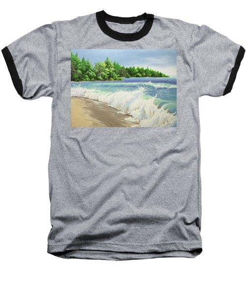 Churning Sand  Baseball T-Shirt