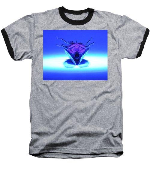 Cicada In Uv Baseball T-Shirt