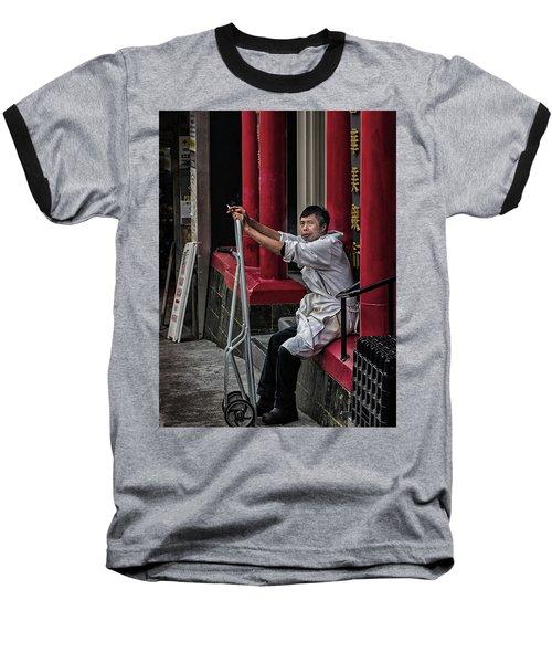 Cigarette Break Baseball T-Shirt