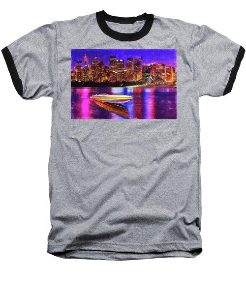 Cigarette Calm Baseball T-Shirt
