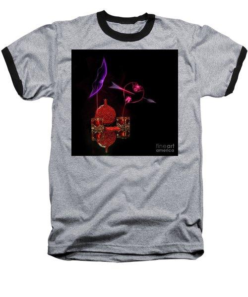 Cinnamon Hearts Baseball T-Shirt