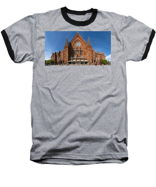 Cincinnati Music Hall Baseball T-Shirt by Rob Amend