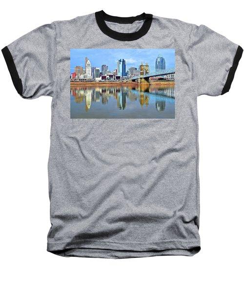 Cincinnati Ohio Times Two Baseball T-Shirt