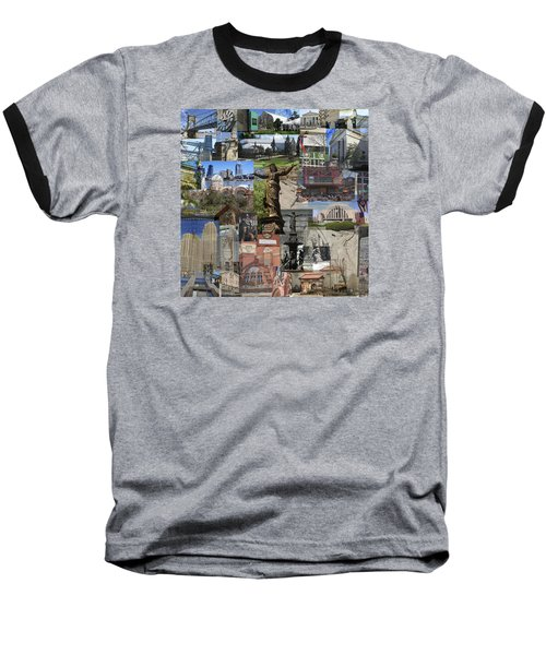 Baseball T-Shirt featuring the photograph Cincinnati's Favorite Landmarks by Robert Glover
