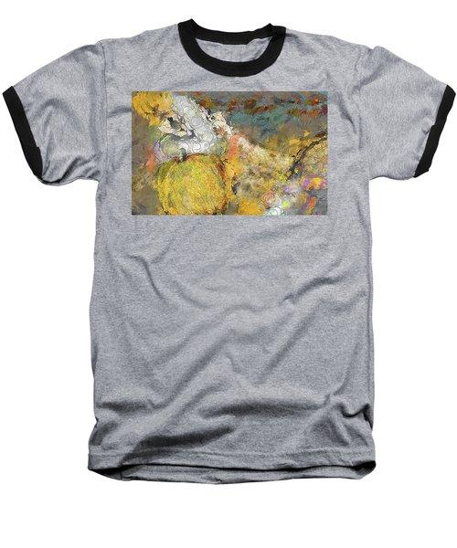 Cinderella Baseball T-Shirt by Alex Galkin