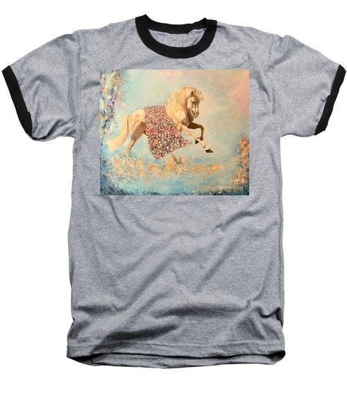 Cinderellas Unicorn Baseball T-Shirt