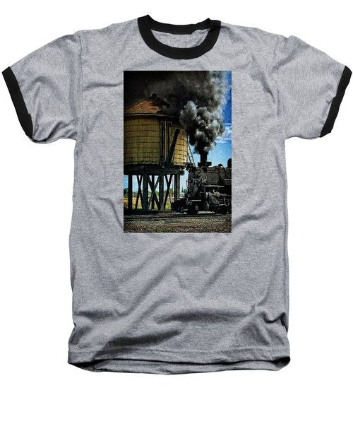 Baseball T-Shirt featuring the photograph Cinders And Water by Ken Smith