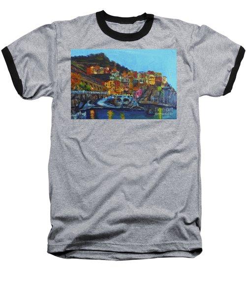 Cinque Terre Baseball T-Shirt