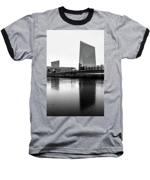 Cira Centre - Philadelphia Urban Photography Baseball T-Shirt by David Sutton