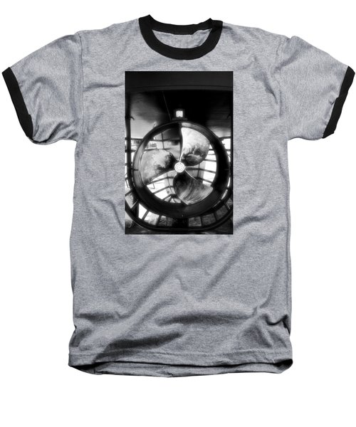 Baseball T-Shirt featuring the photograph Circle And Line by Newel Hunter