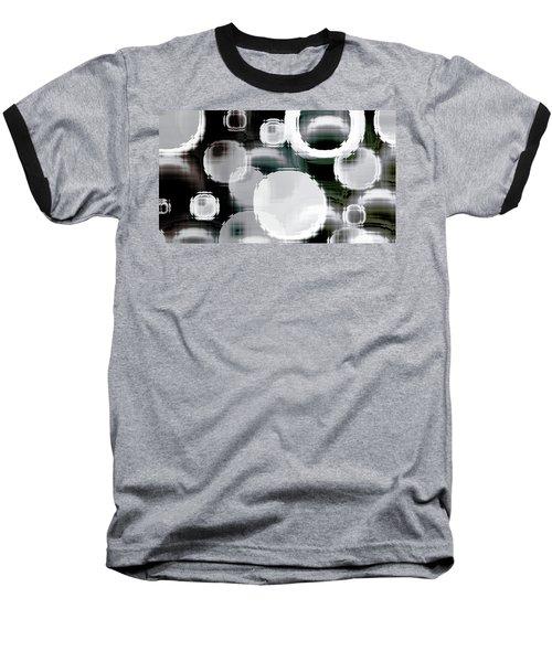 Circle Blocks Baseball T-Shirt by Carol Crisafi