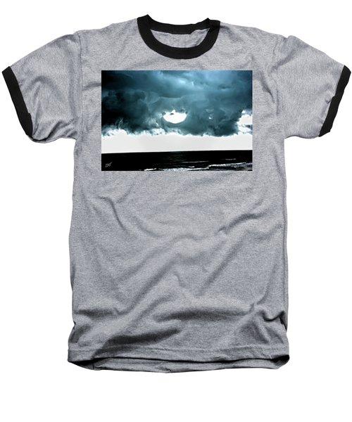Circle Of Storm Clouds Baseball T-Shirt