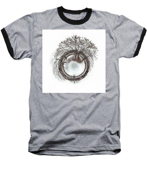 Circle Of Trees Baseball T-Shirt