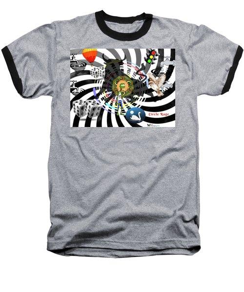 Circle Rage II Baseball T-Shirt