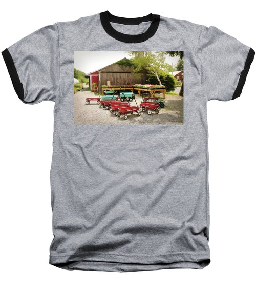 Circle The Wagons Baseball T-Shirt