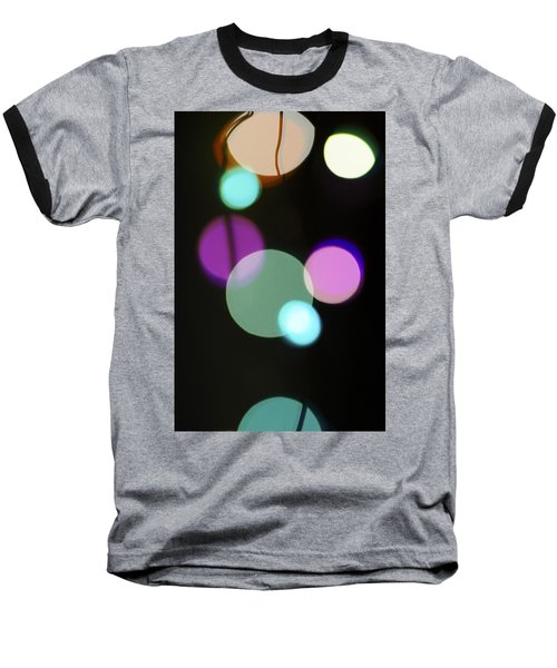 Circles And String Baseball T-Shirt