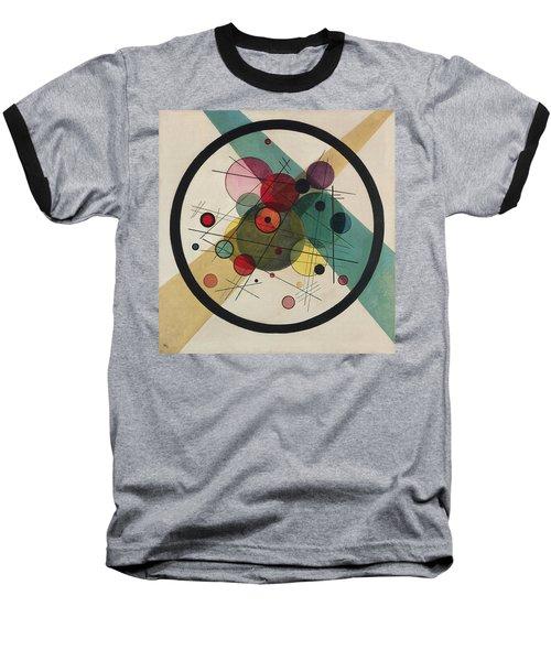 Circles In A Circle Baseball T-Shirt