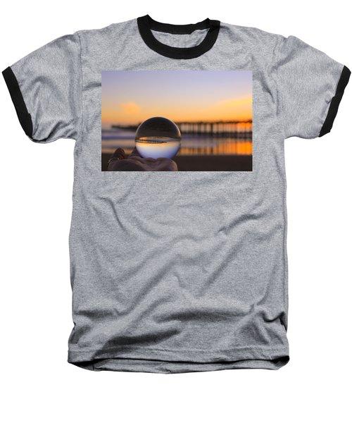 Baseball T-Shirt featuring the photograph Circles by Lora Lee Chapman