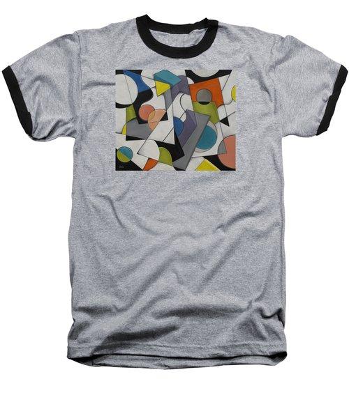 Circles Of Life Baseball T-Shirt by Trish Toro