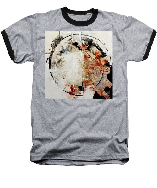 Circles Of War Baseball T-Shirt by Gallery Messina