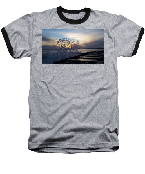 Circling Sunset Baseball T-Shirt
