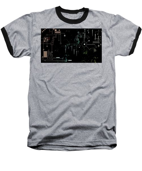 Circuit Board Baseball T-Shirt