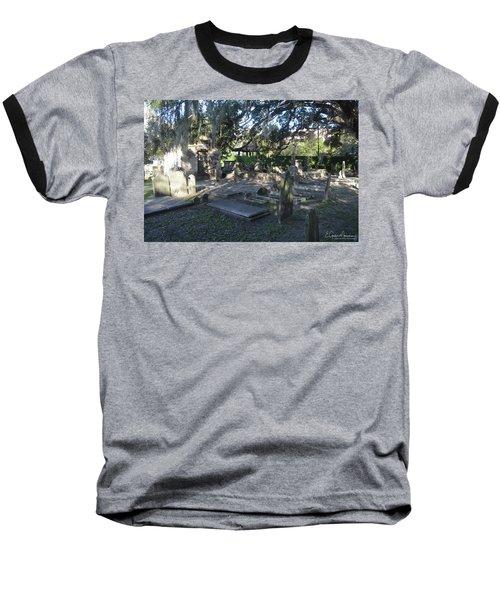 Circular Congregational Graveyard 1 Baseball T-Shirt