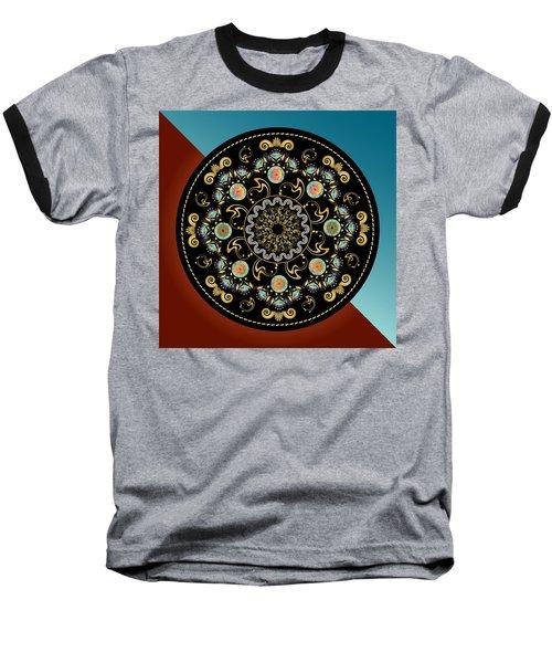 Circularium No 2640 Baseball T-Shirt by Alan Bennington
