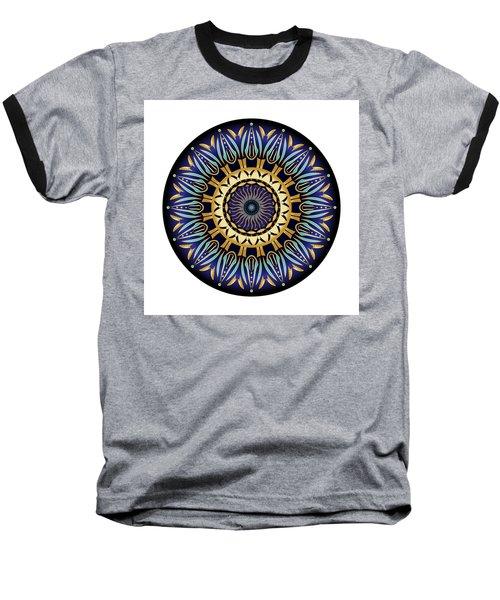 Circularium No 2641 Baseball T-Shirt by Alan Bennington