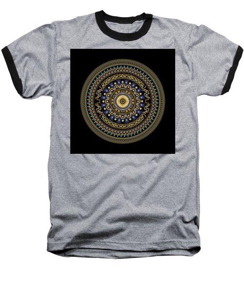 Circularium No 2643 Baseball T-Shirt by Alan Bennington