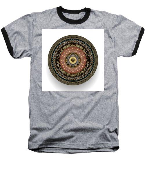 Circularium No 2645 Baseball T-Shirt by Alan Bennington