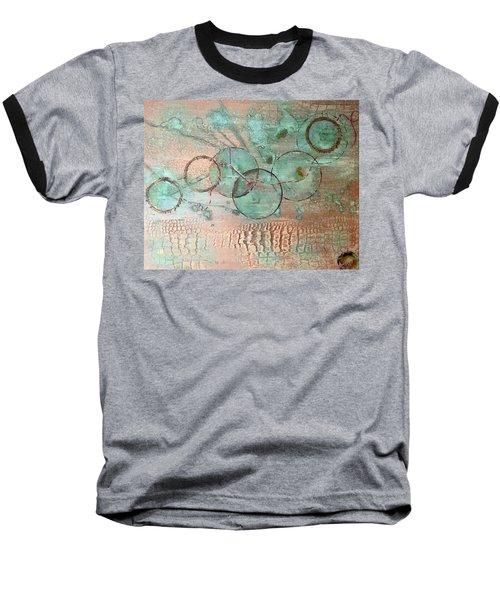 Circumnavigate Baseball T-Shirt by T Fry-Green