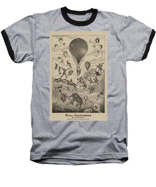 Circus Balloon Baseball T-Shirt