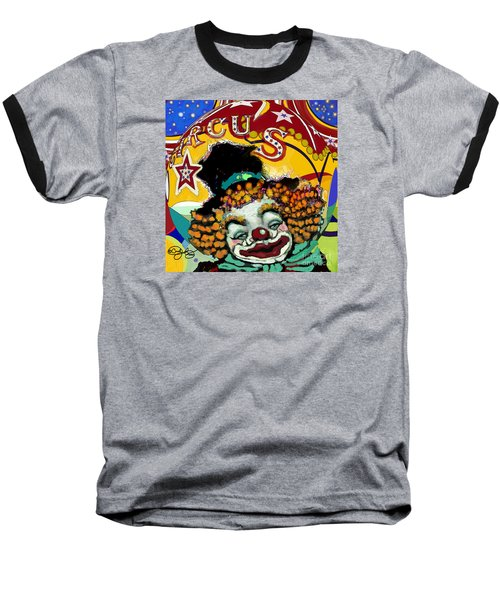 Circus Baseball T-Shirt by Carol Jacobs