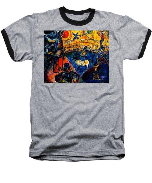 Circus Horse Baseball T-Shirt