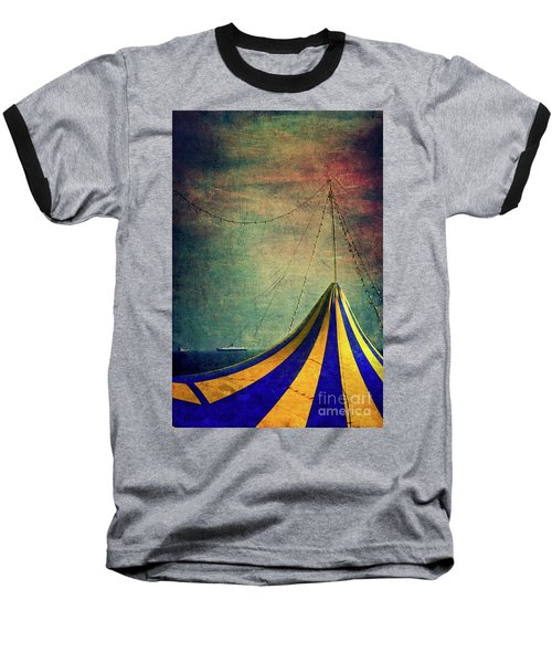 Circus With Distant Ships II Baseball T-Shirt