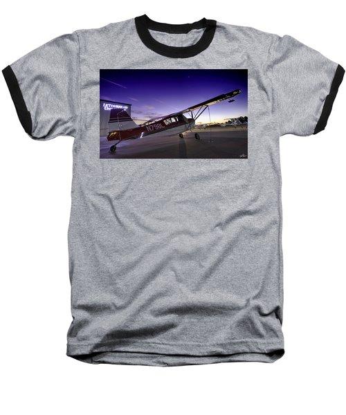 Citabria In The Twilight Of Dawn Baseball T-Shirt