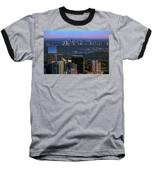 Cities Of Atlanta Baseball T-Shirt