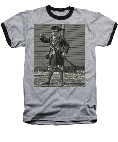 Baseball T-Shirt featuring the photograph Citizen Soldier by Stephen Flint