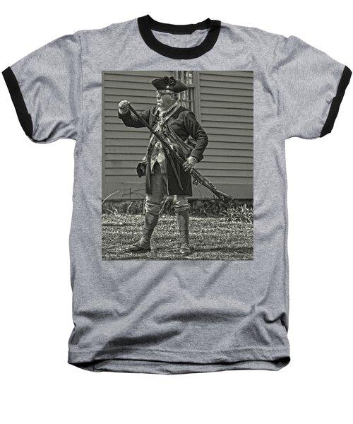 Citizen Soldier Baseball T-Shirt by Stephen Flint