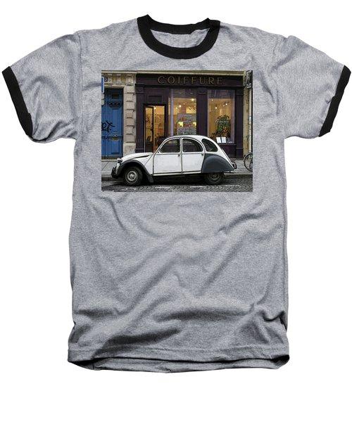 Baseball T-Shirt featuring the photograph Citroen 2cv by Jim Mathis