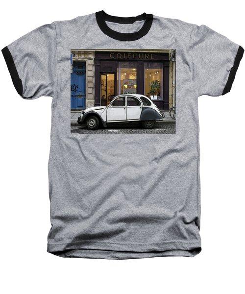 Citroen 2cv Baseball T-Shirt