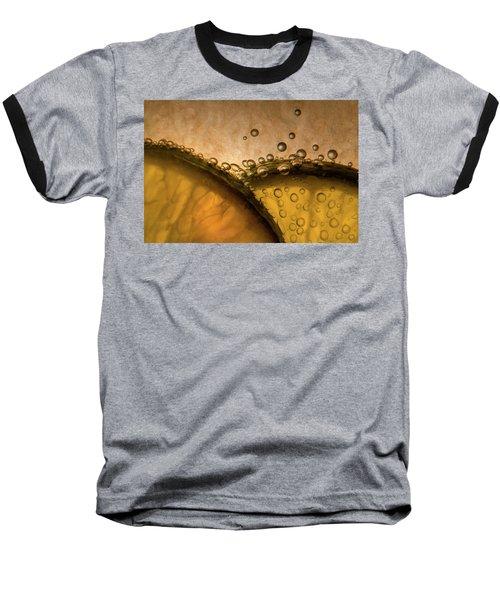 Citrus Abstract Baseball T-Shirt