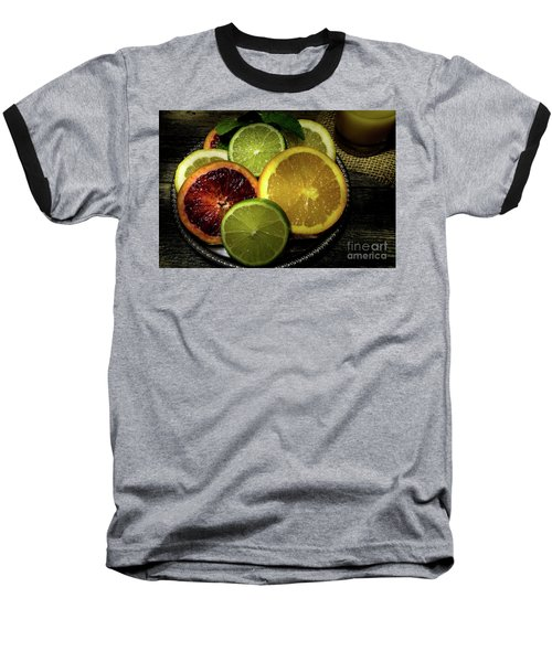Citrus Platter Baseball T-Shirt