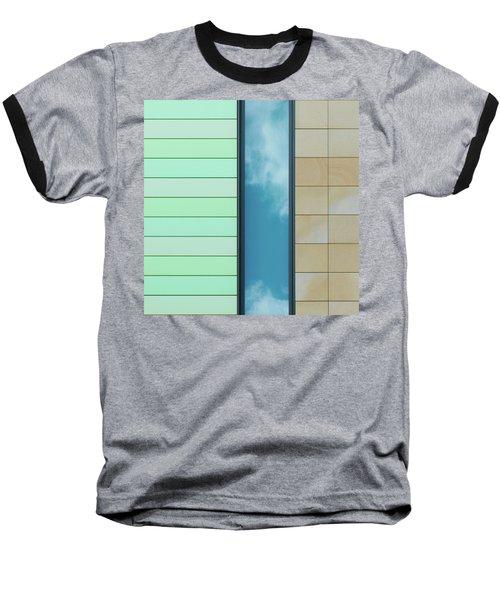 City Abstract Baseball T-Shirt