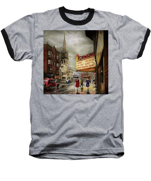 City - Amsterdam Ny - Life Begins 1941 Baseball T-Shirt