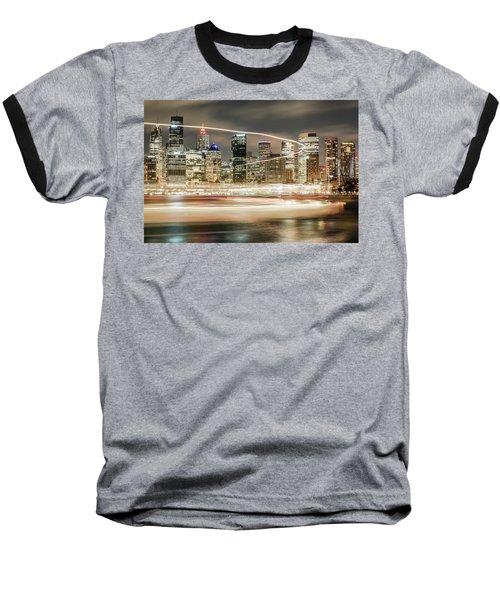 City Blur Baseball T-Shirt
