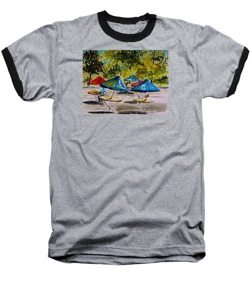 City Cafe Baseball T-Shirt by John Williams